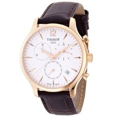 Tissot Men Watches :  Tissot Tradition Classic Chronograph Rose Gold-plated Mens Watch T0636173603700