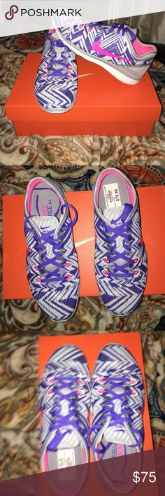 Nike Free 5.0 Grey/Pink/White. Brand new never been worn. I just didn't like the color. Nike Shoes Sneakers