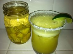 pineapple infused margarita