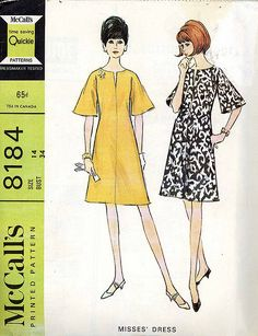 McCall's 8184 mod dress pattern | Flickr - Photo Sharing!