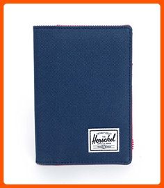 Herschel Supply Co. Raynor Passport Holder, Navy/Red, One Size - Dont forget to travel (*Amazon Partner-Link)
