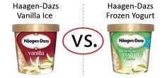 Nutrition Faceoff: Haagen-Dazs Vanilla Ice Cream vs. Frozen Yogurt