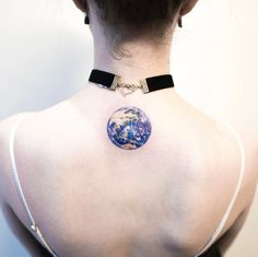 Beautiful planet tattoo by Hongdam
