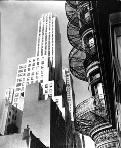 Berenice ABBOTT :: Murray Hill Hotel, NYC, 1935
