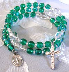 Rosary Bracelet - I have one that my uncle brought back from his visit to the Vatican.