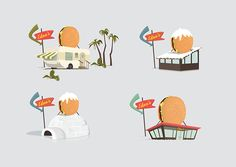 What's in my burger? on Behance