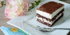 Schokoladen-Tiramisu-Schnitte Low Carb