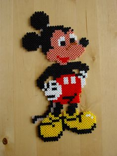 Mickey Mouse hama beads by Hester