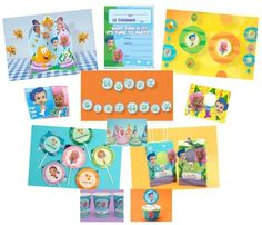 FREE Printable Bubble Guppies Party Supplies | ThePartyAnimal-Blog