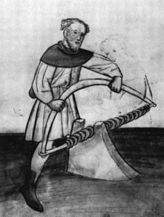 Lienhard, a ring maker. There is no evidence that to suggest any connection with mail making, but hope springs eternal. Medieval Market, Medieval Life, Medieval Archer, Medieval Crafts, Early Modern Period, Late Middle Ages, Panzer, 15th Century, Roman Empire
