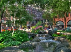 Downtown St. Paul, MN- Mears Park.