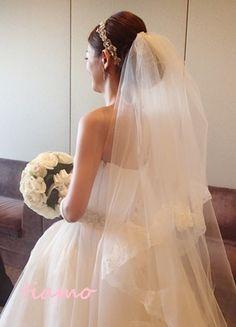 美人花嫁さまの素敵な3スタイル♡前編♡ の画像|大人可愛いブライダルヘアメイク『tiamo』の結婚カタログ