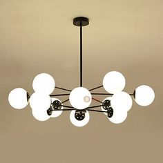 New-Modern-MODO-LED-bulbs-Pendant-Lamp-Suspension-Chandelier-Ceiling-lights