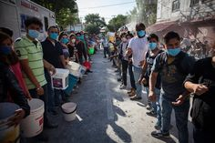 Rescuers and residents look for victims amid the ruins of a building knocked down by a magnitude-7.1 earthquake that jolted central Mexico on Tuesday.