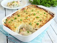 My fish pie is inspired by this amazing recipe at BBC Good Food. I tweaked it a little to fit the keto life-style and used creamy cauliflower mash as topping instead of potatoes. For the creamy sauce I avoided flour, used heavy whipping cream instead of milk and added more cheddar cheese to thicken it. The result is an ...