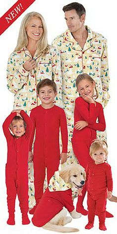 Matching Family Pajamas: Family Pajama Sets, Holiday Pajamas ...
