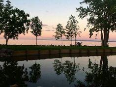 Lake Winnebago in Fond du Lac