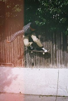 How I miss the days of skateboarding...