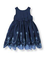 Floral Embroidered Silk Dress $159 | Janie and Jack {$pendy but pretty... also from infant to girl sizes :) ~b} #flowergirl