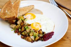 Recipe: Wylie Dufresne's turkey hash. Photo: Evan Sung for The New York Times