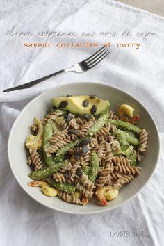Sauce crémeuse aux noix de cajou, saveur curry et coriandre – Mes brouillons de cuisine