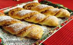 Almás csavar recept fotóval Hungarian Desserts, Hungarian Recipes, My Recipes, Baking Recipes, Cake Recipes, Ital Food, Just Eat It, Sweet Cookies, Bread And Pastries