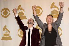 Macklemore & Ryan Lewis Rock at the 2014 Grammy Nominations #ryanlewis #macklemore #GRAMMYnoms #grammyawards #music #awards