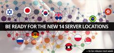 FrootVPN to release 14 brand new vpn server locations next week