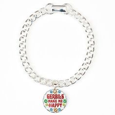 CafePress Gerbil Happiness Charm Bracelet, One Charm - Standard Multi-color CafePress http://www.amazon.com/dp/B00F9W9CIU/ref=cm_sw_r_pi_dp_fYSyub1BZW2BF