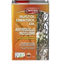 Protection antirouille extérieur/intérieur Rustol OWATROL, incolore, 1 L | Leroy Merlin