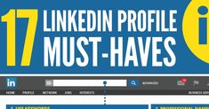 The Ultimate LinkedIn Profile Tips Summary [Infographic] +  -- Hold on! It's a lot of info- but worth the view: LinkedIn Ultimate Profile Tips