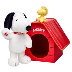 Avery and Titus would both LOVE one of these! So cute from Build a Bear! Snoopy & Woodstock Set | Build-A-Bear Workshop