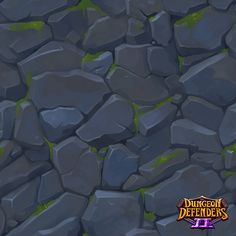 Tiling Textures - Dungeon Defenders David DeCoster on ArtStation at… Texture Drawing, Texture Mapping, 3d Texture, Stone Texture, Texture Painting, Paint Texture, Floral Texture, Game Textures, Textures Patterns