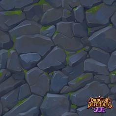 Tiling Textures - Dungeon Defenders 2, David DeCoster on ArtStation at https://www.artstation.com/artwork/GmWOz