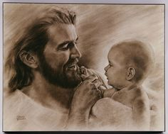 """[""""A perfect gift for new parents, this beautiful mounted print commemorates the birth of a new baby. Titled simply Precious<\/i>, it depicts the new bundle of joy, welcomed into the world by Jesus. Christ smiles brightly at the child held in His arms, making this image a heartwarming addition to any nursery or home. Product Details:<\/b>Dimensions: 10\""""(W) x 8\""""(H)""""] $24.99"""