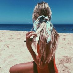 $10 Light Pastel Blue Red Floral Flower Print Pattern Detail Hair Scarf Hair Bow Hair Accessory Red Lace Up Cut Out Side One Piece Swimsuit Swimwear Beachwear Tumblr