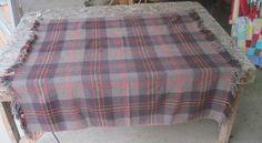 a vintage Faribo fluff loomed, Faribault woolen mill, Faribault, MN  stadium blanket