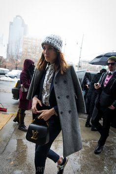 Alexa Chung at Calvin Klein. | Flickr - Photo Sharing!