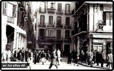 Foto de los años 40 de MÁLAGA