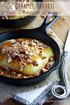 Caramel Havarti with Candied Pecans on MyRecipeMagic.com #castellohavarti @castellousa