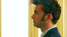 David Tennant's sideburns!