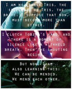 Endings of the books ~Divergent~ ~Insurgent~ ~Allegiant~