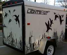 Goose hunting, Duck Hunting, WaterFowl Hunting, Decoy Hauler, Decoy Trailer.