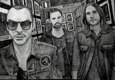 Amazing #MARSArt of Thirty Seconds to Mars by @Annet_Capricorn