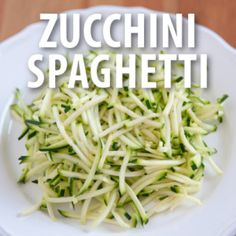The Chew: Clinton Kelly's Zucchini Spaghetti with Arugula Pesto Recipe - great way to use all my fresh basil, thinking of adding italian sausage for my boys