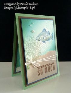 Stampinantics: BY THE TIDE BRAYER TUTORIAL