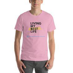 Funny Sarcastic Social Media Meme Short Sleeve Unisex T-Shirt - Lilac / L
