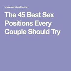Last longer, have more fun, and enjoy mind-blowing orgasms with our sex position playbook. Best Positions For Her, Love Positions, How To Improve Relationship, Relationship Tips, Relationship Captions, Marriage Tips, Relationships, Sex And Love, Sexy