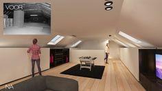 interieur#zolder#multifunctioneel#kaswand#verschuifbaar#Ghyselen Dewitte Architecten
