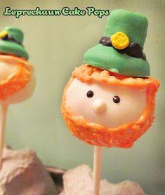 Diddles and Dumplings: Leprechaun Cake Pops